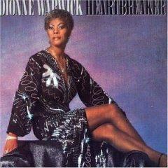 dionne warwick, heartbreaker, CD 1983 arista, made in w germany, used like new