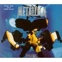 metallica : fuel part one CD single 1998 vertigo 3 tracks used near mint