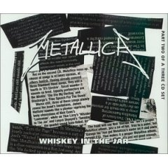 metallica - whiskey in the jar part two CD single 1999 vertigo 3 tracks used like new