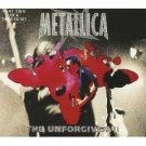 metallica - unforgiven II part two CD single 1998 vertigo 4 tracks used like new