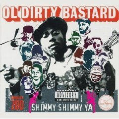 ol' dirty bastard : shimmy shimmy ya, CD single 1995 elektra, 6 tracks, used very good