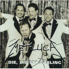 metallica : die die my darling CD single import 1999 vertigo used good condition