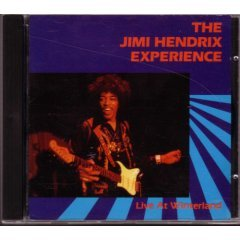 jimi hendrix experience : live at winterland CD 1987 rykodisc used like new