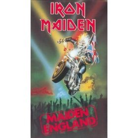 iron maiden : maiden england VHS 1989 EMI 95 minutes15 songs used near mint
