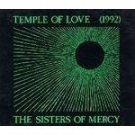 the sisters of mercy - temple of love 1992 CD EP warner UK Merciful Release 4 tracks used mint