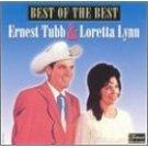 ernest tubb & loretta lynn - best of the best CD 1999 federal king MCA, used near mint