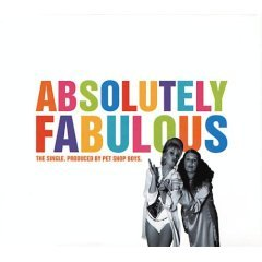pet shop boys : absolutely fabulous CD single 1994 spaghetti EMI used very good