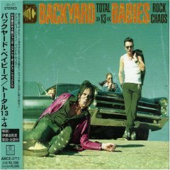 backyard babies : total 13 CD 1998 MVG made in japan new factory sealed