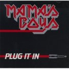 mama's boys : plug it in CD 1986 albion line music, used mint