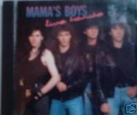 mama's boys : live tonite CD 1991 music for nations, made in france, used mint