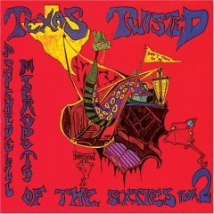 Psychedelic Microdots Vol. 2 : Texas Twisted CD 1991 sundazed music, used mint