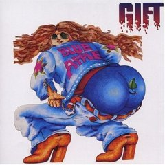 gift : blue apple CD import 1994 germanofon made in luxembourg used mint