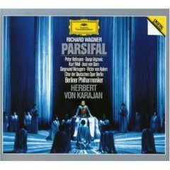 richard wagner : parsifal CD 4-disc set 1990 deutsche grammophon used mint