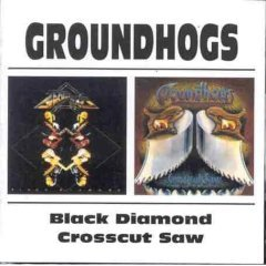 goundhogs : black diamond / crosscut saw CD 2-disc set 1991 1997 BGO new