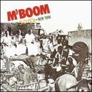 M'BOOM : live at S.O.B.'s - new york CD 1992 max roach rhino bluemoon used very good