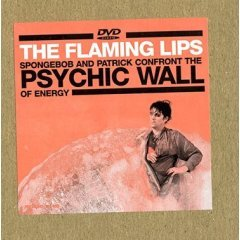flaming lips : Sponge Bob and Patrick Confront the Psychic Wall of Energy DVD 2003 used mint