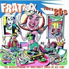 frat rock : the '80s CD 1995 rhino 12 tracks used mint