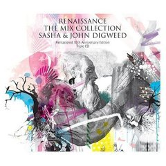 renaissance : the mix collection : sasha & john digweed, triple CD 2004 used near mint