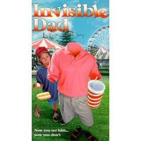invisible dad VHS1998 A-pix used very good