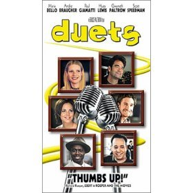 duets VHS 1998 buena vista 112 minutes color used mint