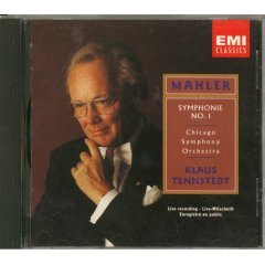 mahler : symphony no.1 klaus tennstedt chicago symphony orchestra CD 1991 EMI BMG Direct mint