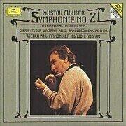 gustav mahler : symphonie no.2 claudio abbado VPO 2 CD 1994 Deutsche grammophon mint