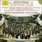 mahler : symphony no.8 berliner philharmoniker & claudio abbado CD 2-disc 1995 DG mint