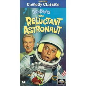 don knotts : the reluctant astronaut VHS 1967 universal 1996 MCA used mint