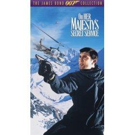 james bond : on her majesty's secret service VHS 1995 MGM used mint