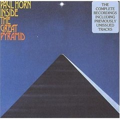 paul horn : inside the great pyramid CD 2-disc set 1976 1992 kuckuck made in germany used mint