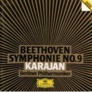 beethoven symphony no.9 - karajan with berliner philharmoniker CD 1984 deutsche grammophon used mint