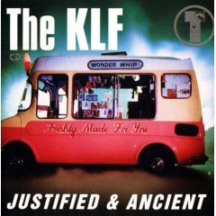 the KLF - justified & ancient CD EP 1992 KLF arista 5 tracks used very good