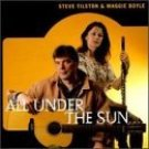 steve tilston & maggie boyle - all under the sun CD 1996 flying fish rounder used mint