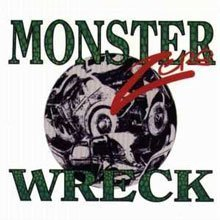 monster wreck - zero CD sonic bubblegum 9 tracks used mint