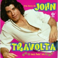 john travolta - the best of : let her in CD 1996 K-tel 12 tracks used mint