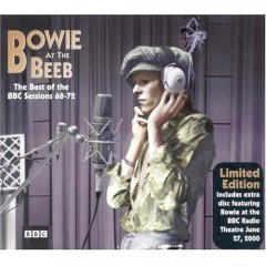 david bowie - at the beeb : best of the BBC radio sessions CD 3-disc box Ltd ed 2000 virgin BBC new