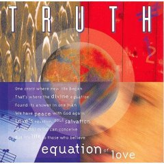 truth - equation of love CD 1994 integrity 10 tracks used very good