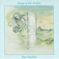 steve hackett - voyage of the acolyte CD 1975 virgin manufactured in UK used near mint