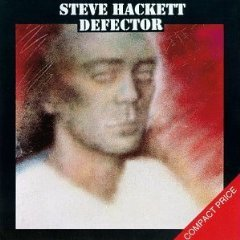 steve hackett - defector CD 1980 charisma 1989 virgin made in UK used mint