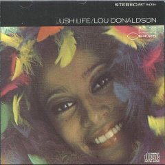 lou donaldson - lush life CD 1988 capitol blue note 7 tracks - new