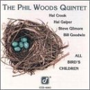 the phil woods quintet - all bird's children CD 1991 concord jazz german press used near mint