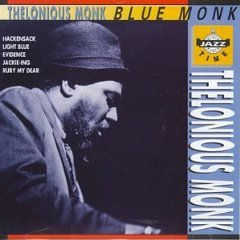thelonious monk - blue monk CD 1991 jazz time CSI used mint