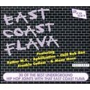 east coast flava - various artists : 2 CD set 1998 M.I.L. used mint
