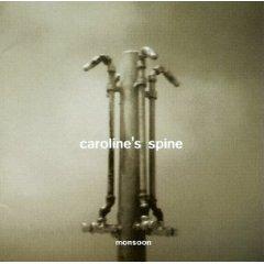 caroline's spine - monsoon CD 1997 hollywood used mint
