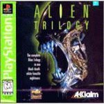 playstation : alien trilogy 1997 acclaim rated mature 17+ - used mint