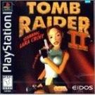 playstation : tomb raider II eidos - rated teen 13+ ntsc u/c - used near mint