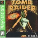 playstation - tomb raider - eidos - rated teen 13+ ntsc u/c - used mint