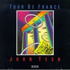 john tesh - tour de france CD 1988 private music used mint
