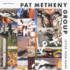 pat metheny group - letter from home CD 1989 geffen - used very good
