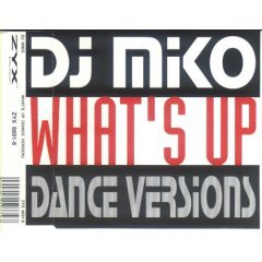 dj miko - what's up dance version CD single 1994 zyx 4 tracks made in germany - mint